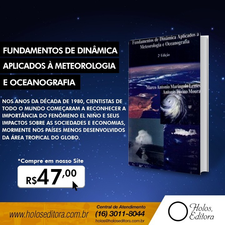 Fundamentos de Dinâmica Aplicados à Meteorologia e Oceanografia