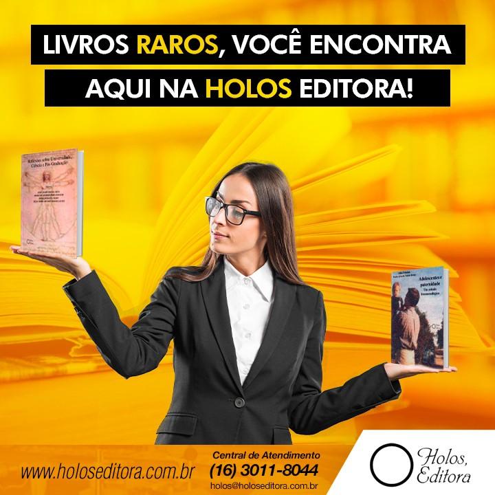Livros raros, você encontraaqui na Holos Editora!