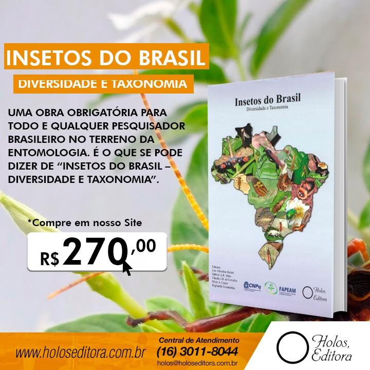Insetos do Brasil – Diversidade e Taxonomia